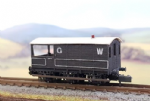 OCWW ALN016 N Scale Kit GWR 6-wheel Brake Van diagram AA1,